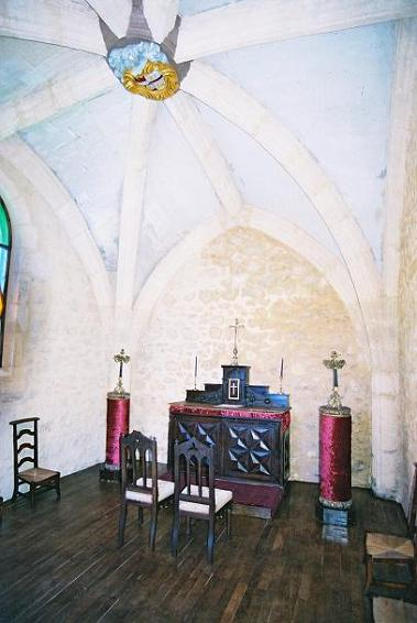Chapel in the Chateau Gite