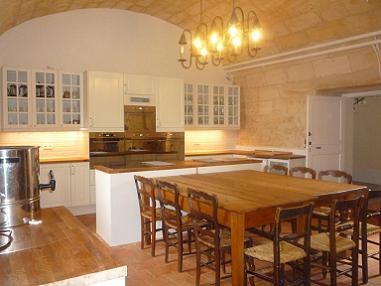 Kitchen French Chateau